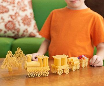 Estructuras 3D con pasta