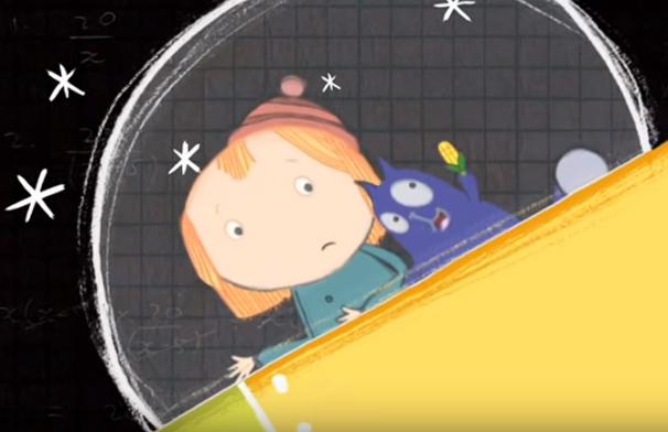 Pep + Gato El problema de la criatura espacial