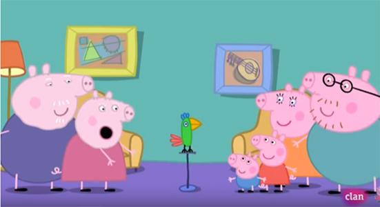 Peppa Pig Capítulo 4 Temporada 1 El loro Polly