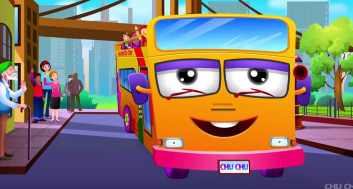 Las ruedas del autobús - Chuchu TV
