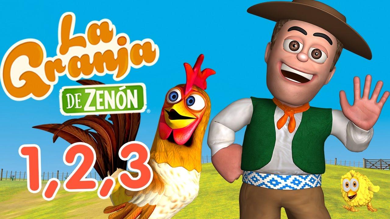 La granja de Zenón - Videos de canciones infantiles y videos audiovisuales para aprender los colores , números , letras