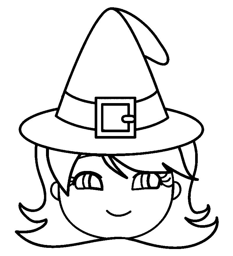 Caretas De Halloween Para Imprimir Pintar Y Colorear