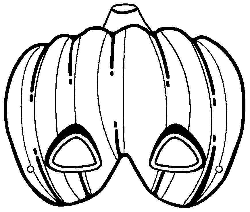 Caretas De Halloween Para Imprimir Pintar Y Colorear Aprende Feliz