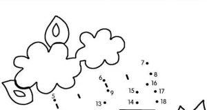 Vamos a dibujar un camión de bomberos siguiendo los números y uniendo los puntos