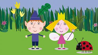 Dibujos animados de El pequeño reino de Ben y Holly