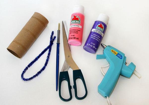 Materiales y herramientas necesarias para hacer nuestras bonitas mariposas