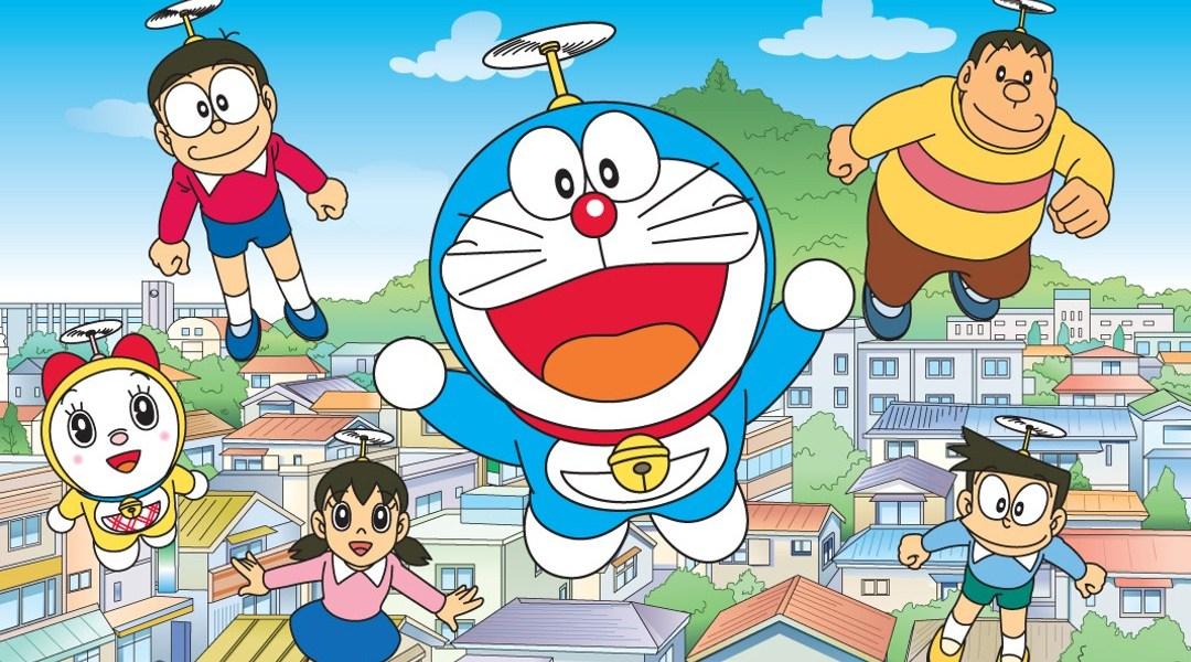 Dibujos animados de Doraemon - El gato cósmico -