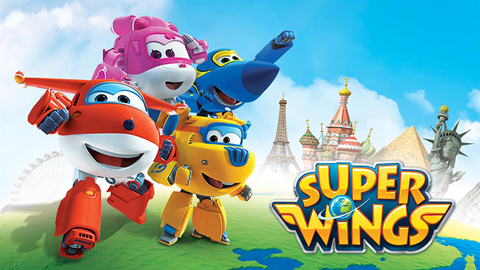 Dibujos animados de Super Wings