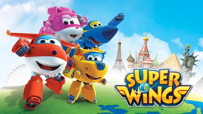 Dibujos animados de Super Wings