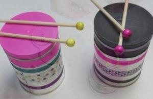 Hacer un tambor de Semana Santa para niños