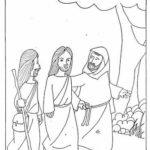 La última Cena De Jesús En Dibujo Para Colorear Los Más Peques De La