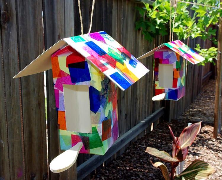 Paso 6 - Impermeabilizar las casitas de pájaros