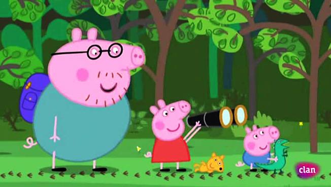 Peppa Pig Capitulo 8 - Día de Campamento