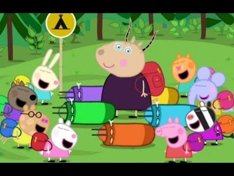 Peppa Pig se va de campamento junto a su amigos