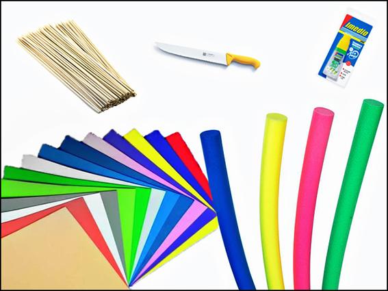 Materiales necesarios para hacer un velero de juguete