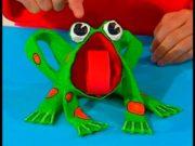 Como hacer una rana por manualidades infantiles Art Attack