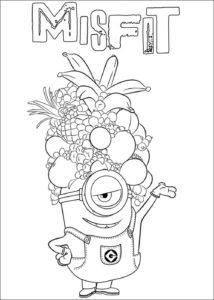Pinta y colorea los dibujos más divertidos de los Minion