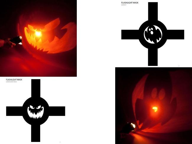 Linterna para hacer terroríficas proyecciones