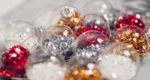 Hacer bolas para el árbol de Navidad de forma fácil
