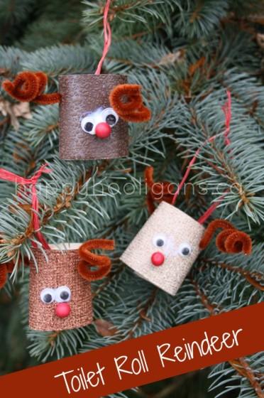 Renos navideños para decorar el Árbol de Navidad