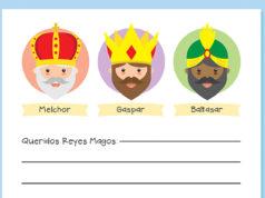 Carta para los Reyes Magos de Oriente