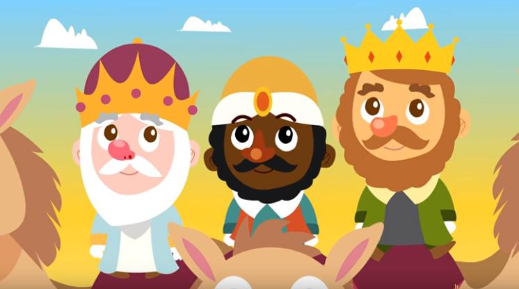 Cuento infantil de Los Tres Reyes Magos