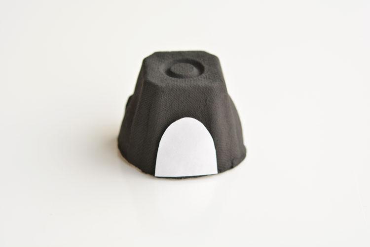 Paso 3 - Hacemos la barriga del pingüino
