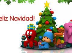 Pocoyo y sus amigos te desean Feliz Navidad