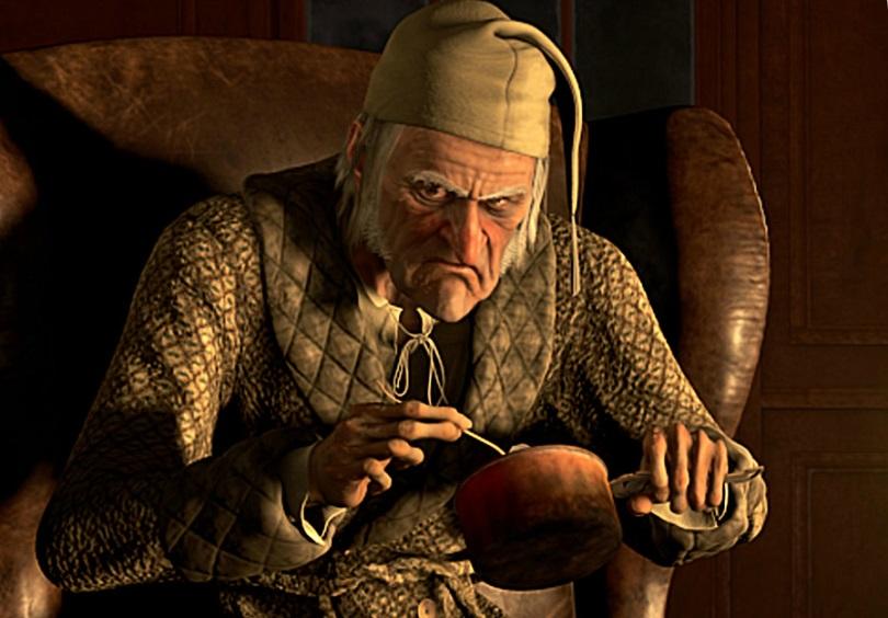 Scrooge era una persona con pocos valores
