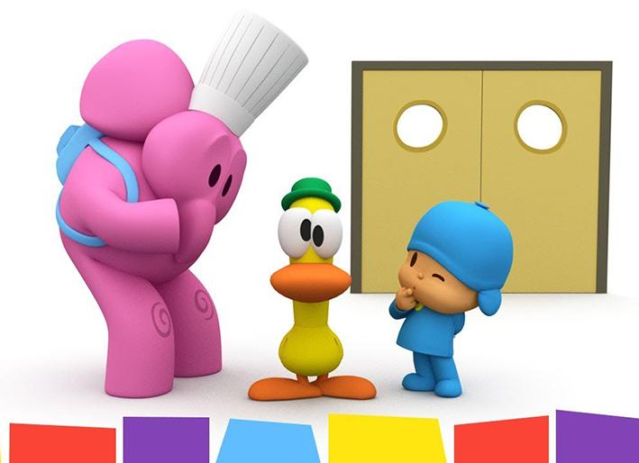 Dibujos animados de Pocoyo - Restaurante Pocoyo 1x14
