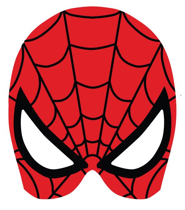 Marcara de Spiderman para disfrazarte en carnaval