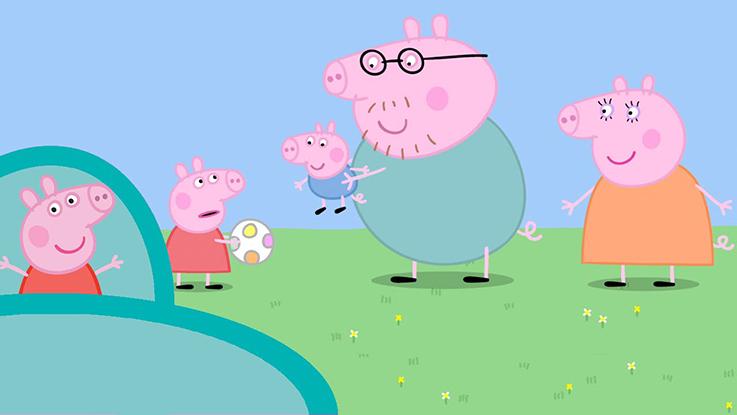 Peppa Pig Capitulo 11 - El cerdito de enmedio