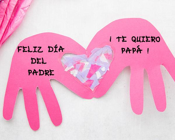 Manualidades para decirle Te Quiero a papá