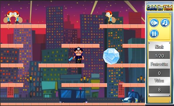 Atrapa al ladrón - Juegos online gratis de acción