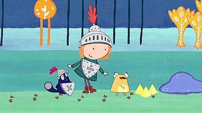 Dibujos animados de Peg + Gato - El problema de la Pirámide Dorada
