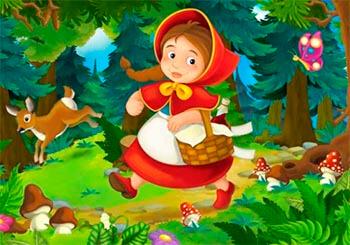 El cuento infantil de Caperucita Roja (Modo lectura)