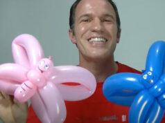 Hacer mariposa con globos - Globoflexia para niños