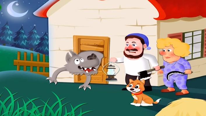 Pulgarcito logra engañar al lobo mediante su ingenio para intentar alcanzar su objetivo de volver a casa