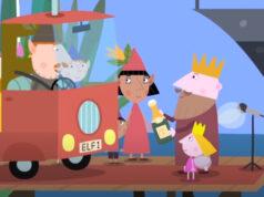 Ver El pequeño reino de Ben y Holly - Día ocupado del Rey