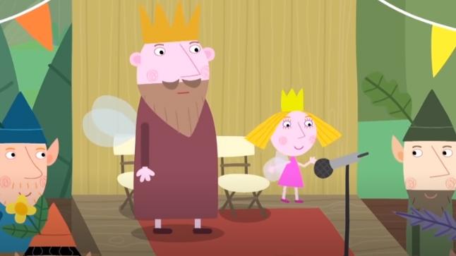 Ver capítulo de dibujos animados de El pequeño reino de Ben y Holly El día atareado del Rey