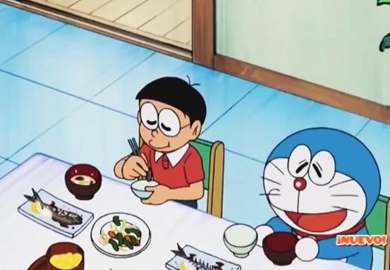 Ver Doraemon - Los tres días de hambre de Nobita