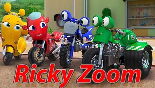 Ver dibujos animados de Ricky Zoom online