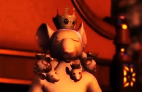 El Rey Ratón de las siete cabezas