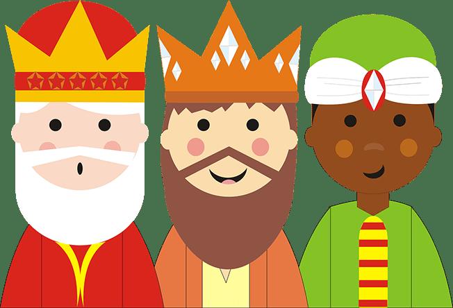 Hablar con Los Reyes Magos Melchor, Gaspar y Baltasar