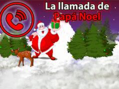 La llamada de Papá Noel a las niñas y niños (Corte Inglés)