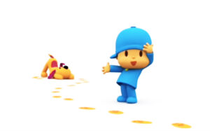Ver video episodio 20 de Pocoyo - Huellas misteriosas