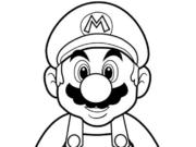 Dibujos de Mario Bros para colorear y pintar